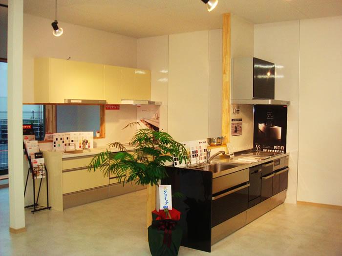 キッチン・お風呂も多数展示