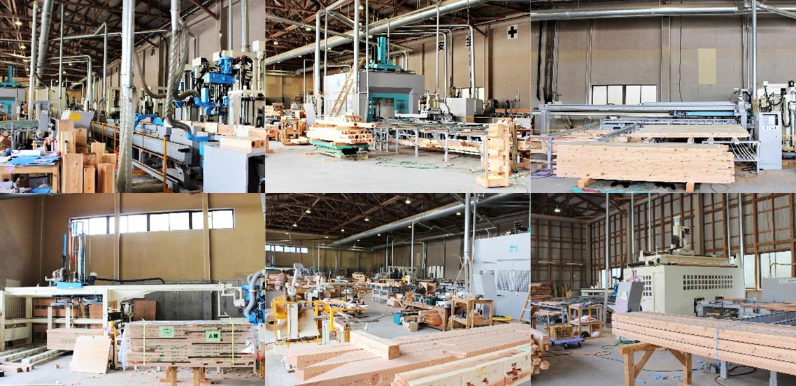木造プレカット加工機械紹介 イメージ